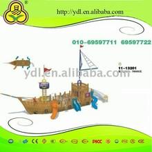 children wooden pirate ship