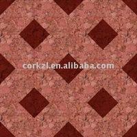 Parquet color cork