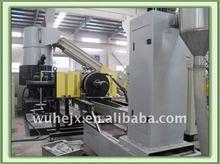 waste plastic PE/PP films agglomerating granulator machine