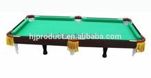 Venta caliente MDF mini mesa de billar / mesa de billar