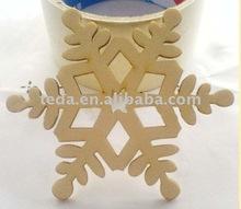 2012 promotional laser cut Christmas haging decoration