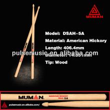 MUMAN American Hickory Wood Drum Sticks,Instrument Music