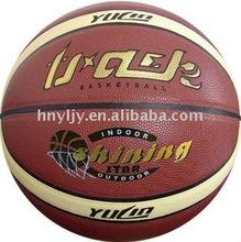 basketballs with hand print