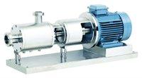 High shear mixer homogenizer pump