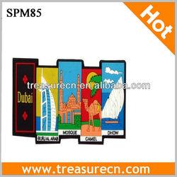 Colorful Soft PVC Fridge Magnet