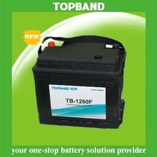 electric car battery +BMS with SLA case TB-1260F