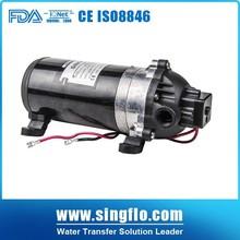 Singflo 12v high pressure water pump/car washing pump