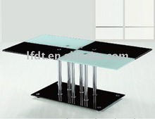 colorful tempered glass furniture