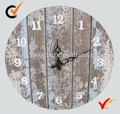 estilo francés antiguo de madera reloj de pared de la decoración del hogar