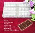 Moules de chocolat de polycarbonate pour l'injection