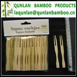 Bamboo Fruit Fork