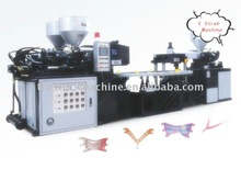 PVC Three-color upper injection foaming machinery