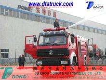 Rhd nord Benz camion beiben 4 * 4 mousse de l'eau camion de pompiers, Hors route camion de pompiers M : 86 - 15271357675