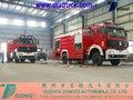 Nord benz camion beiben 4*4 d'eau. mousse camion de pompier, hors route camion de pompier tom: 86-15271357675