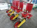 Montado sembradora de maíz, sembradora de maíz. La siembra de maíz de la máquina