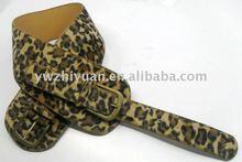 2013leopard grain extended fashion belt for lady