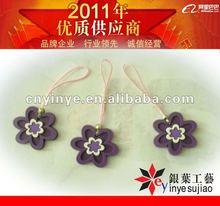 flower PVC cellphone trinket