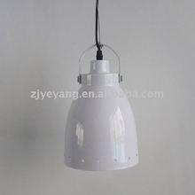 white metal middle celing lights