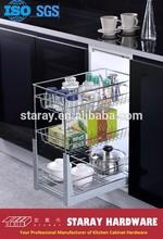 HPJ602 Kitchen Cabinet Pull Out Drawer Basket