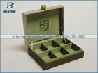 2014 high quality wood compartment storage box