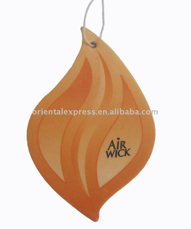 2014 Hot PROMOTIONAL paper car air freshener