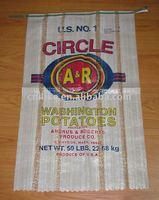 U.S potatoes,grain,flour,rice,wheat pp woven bag