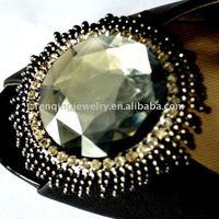 2012 fashion resin shoe buckle