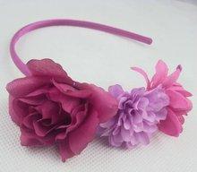 flower elastic headband