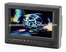 "7""LCD High Brightness HD-SDI Monitor with Component,AV,HDMI"