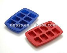 8cups Silicone Square Muffin Pan/Muffin mold