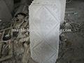 talladas a mano de mármol y granito de la columna de piedra
