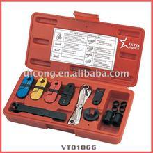 8 pc combustível e linha de transmissão Disconnect Set ferramentas de refrigeração ferramenta automotiva ( VT01066 )