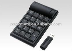 wireless numeric keyboard ,laptop number keypad