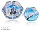 Colored Crystal Decorative Modern Ashtray