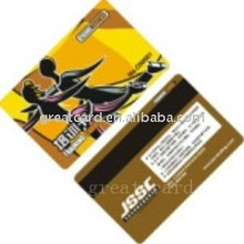 Full Color Printed Loco Magnetic Card