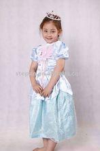 Cinderella bambini costume, cinderella costume cartoon tz-9803
