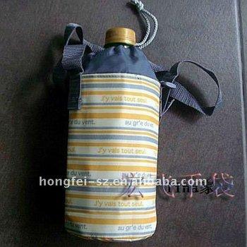 Guranteed 100% Hot sale PVC single bottle cooler bag