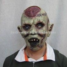 Zombie mask in latex material/ The walking dead rubber mask