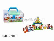 Educational toy,Happy farm brocks toy set(38pcs)-Country series