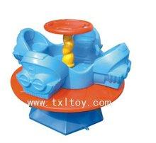 plastic outdoor kid cartoon seesaw TXL-114L