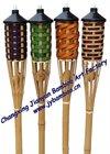 Garden Bamboo torch/bamboo tiki torch/garden torch