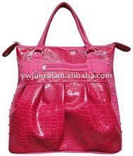 2012 Leather Crocodile Prints Women Handbag