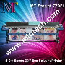 DX7 7702L, 3.2 m Eco Solvent Printer MT-Starjet,1440 dpi, BIG BANG TO MARKET