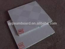 vinyl/pvc gypsum ceiling material 600*1200mm