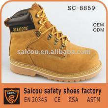 slip resistant rubber boots steel toe factory (SC-8869)