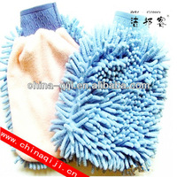 microfiber cleaning chenille magic gloves for car