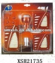 coche rojo de goma accesorios pedal de freno