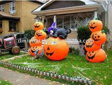 yard Halloween pumpkin inflatable decorations