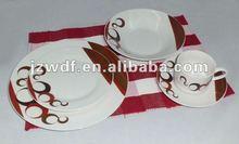 20PCS Ceramic Porcelain Dinnerware Set, factory directly wholesale