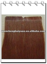 strong keratin brown brush coat tape prebonded hair extension